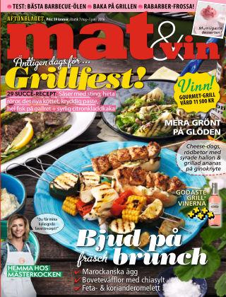 Mat & Vin (Inga nya utgåvor) 2016-05-07
