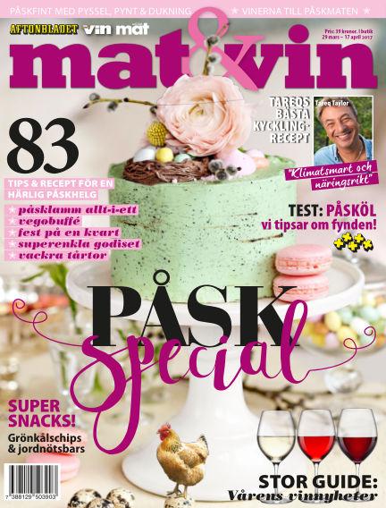 Mat & Vin (Inga nya utgåvor) March 29, 2017 00:00
