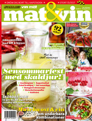 Mat & Vin (Inga nya utgåvor) 2017-08-12