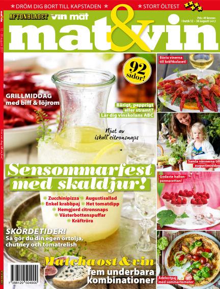 Mat & Vin (Inga nya utgåvor) August 12, 2017 00:00