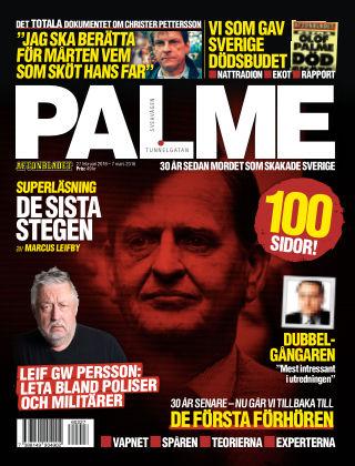 Aftonbladet Palme - 30år sedan mordet 2016-02-27