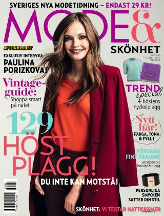 Aftonbladet Mode & Skönhet 2016-09-07