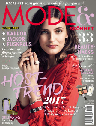 Aftonbladet Mode & Skönhet 2017-08-31