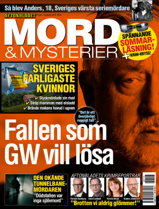 Aftonbladet Mord & Mysterier 2016-07-13