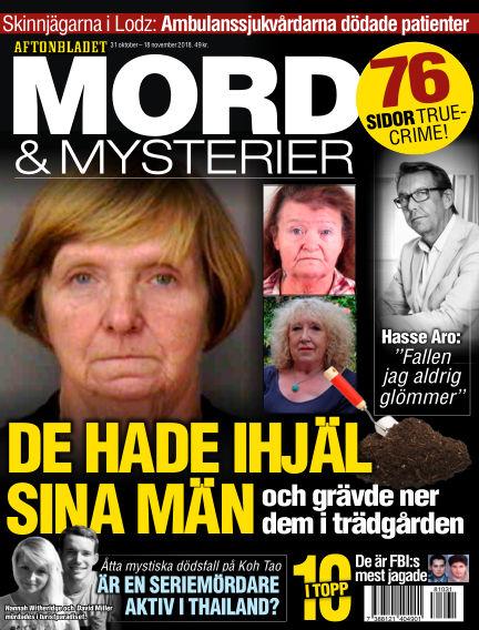 Aftonbladet Mord & Mysterier October 31, 2018 00:00