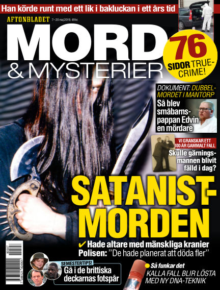 Aftonbladet Mord & Mysterier May 07, 2019 00:00