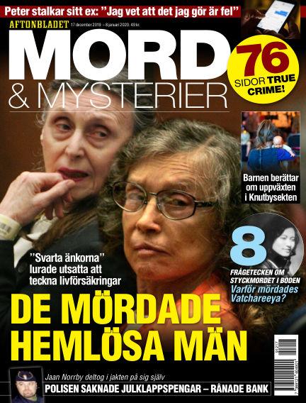 Aftonbladet Mord & Mysterier December 17, 2019 00:00