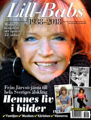 Lill-Babs 1938-2018 2018-04-07