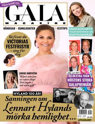 Gala Magazine (Inga nya utgåvor) 2019-09-20