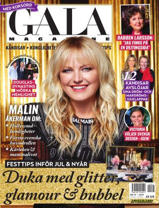 Gala Magazine (Inga nya utgåvor) 2019-12-13