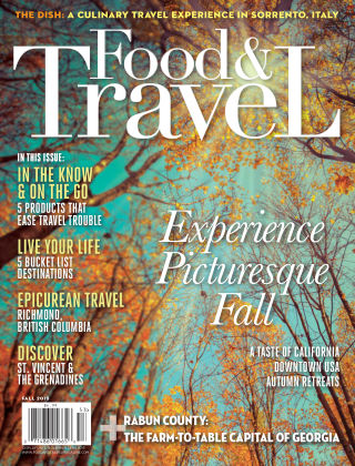 Food and Travel Magazine Fall 2015