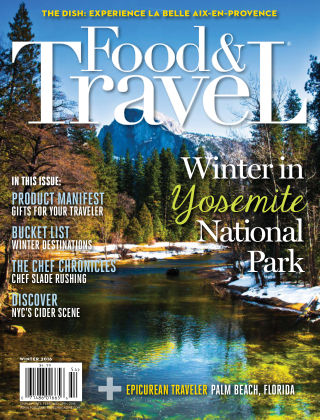 Food and Travel Magazine Winter 2016