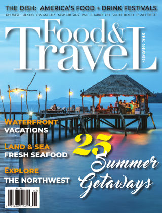 Food and Travel Magazine Summer 2018
