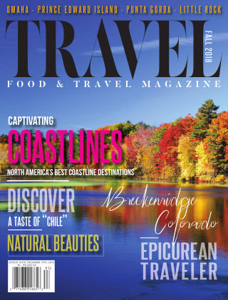 Food and Travel Magazine Fall 2018