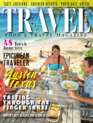 Food and Travel Magazine Winter 2018