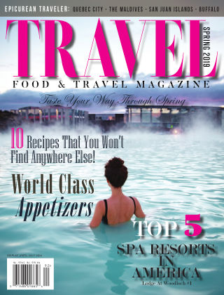 Food and Travel Magazine Spring 2019