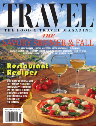 Food and Travel Magazine Summer/Fall