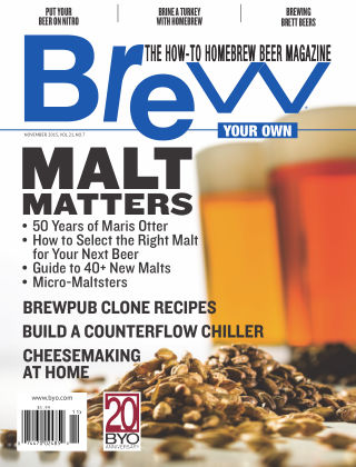 Brew Your Own November 2015