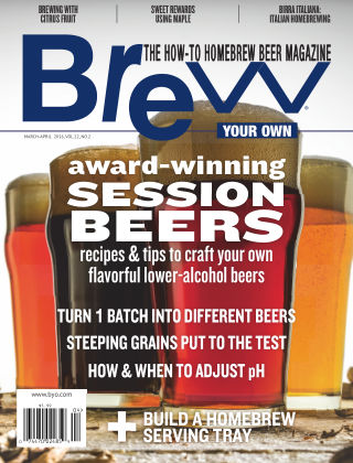 Brew Your Own March-April 2016