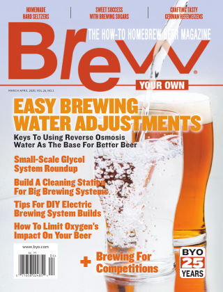 Brew Your Own March-April 2020