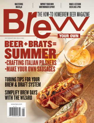 Brew Your Own July-August 2021
