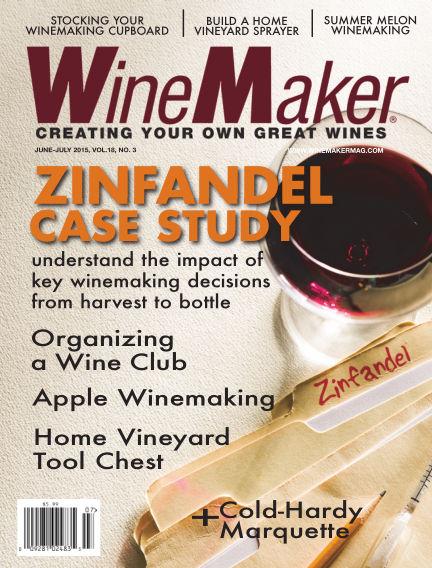 WineMaker May 15, 2015 00:00