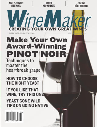 WineMaker August-Sept. 2015