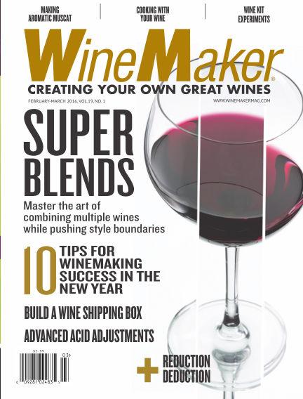 WineMaker January 08, 2016 00:00