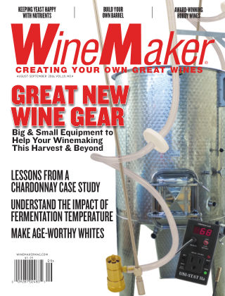 WineMaker August-Sept. 2016
