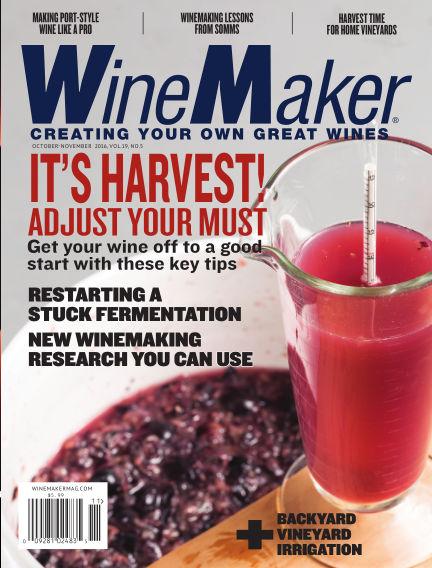 WineMaker September 09, 2016 00:00