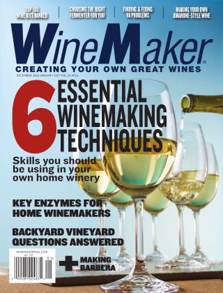 WineMaker Dec. 2016-Jan. 2017