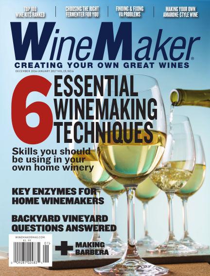 WineMaker November 10, 2016 00:00