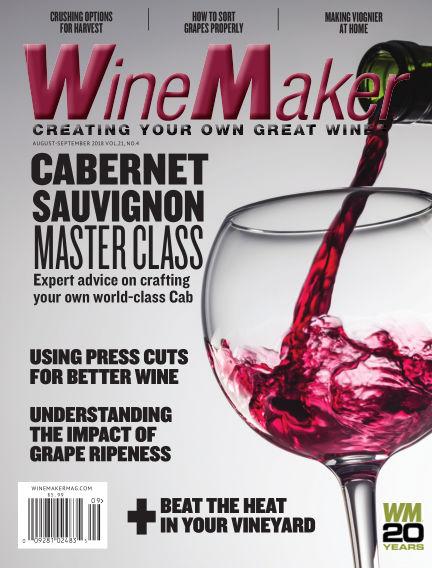 WineMaker July 10, 2018 00:00