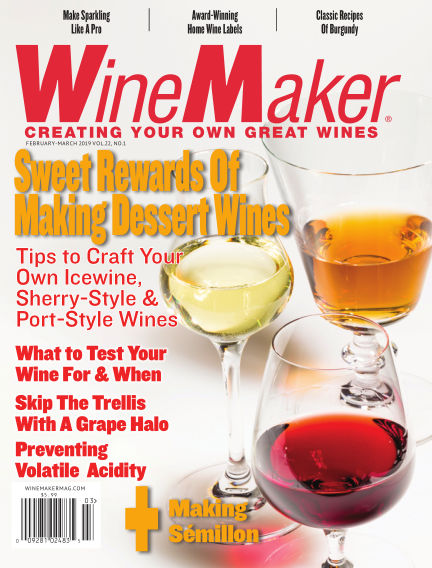 WineMaker January 10, 2019 00:00