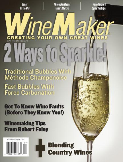WineMaker May 10, 2019 00:00