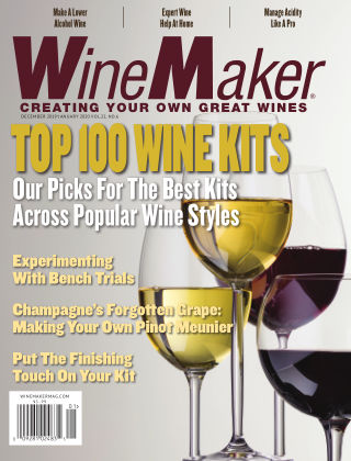 WineMaker Dec 2019 - Jan 2020