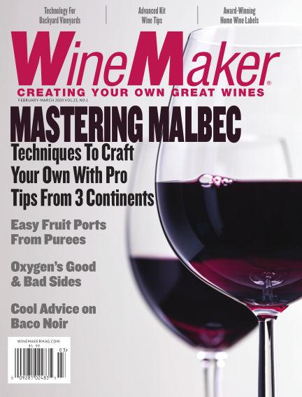 WineMaker January 10, 2020 00:00
