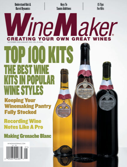 WineMaker November 10, 2020 00:00