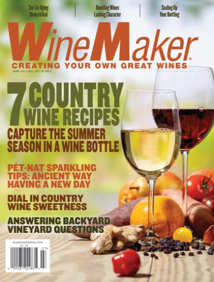 WineMaker May 10, 2021 00:00