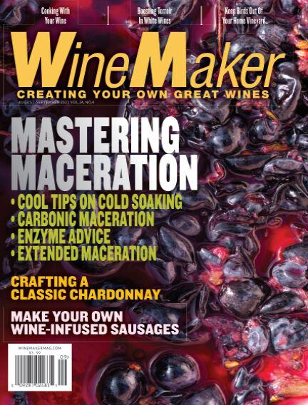 WineMaker July 09, 2021 00:00