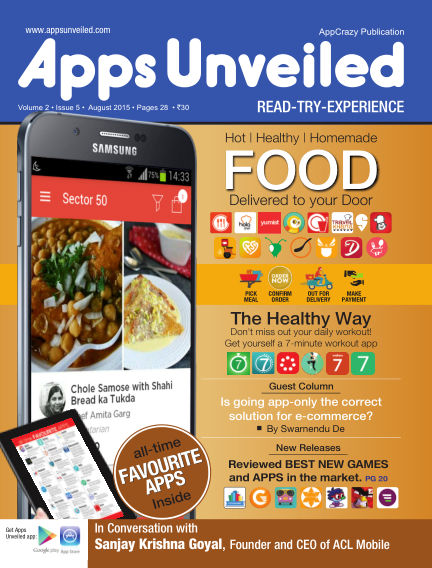 Apps Unveiled August 14, 2015 00:00