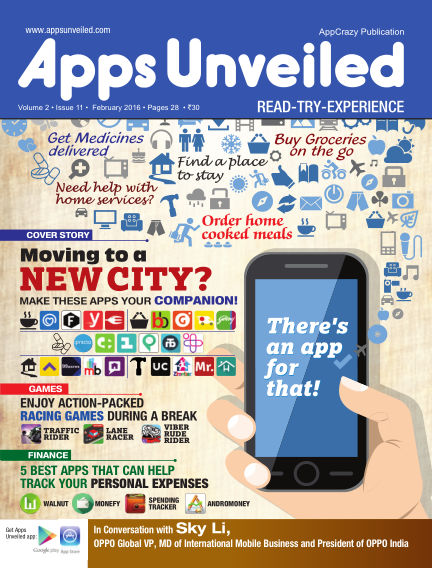 Apps Unveiled February 15, 2016 00:00