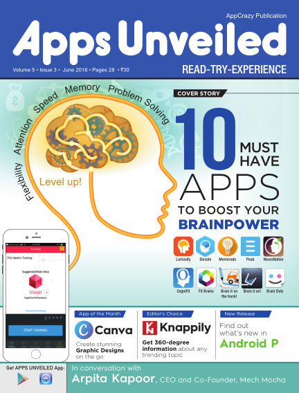Apps Unveiled June 11, 2018 00:00