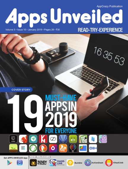 Apps Unveiled January 29, 2019 00:00