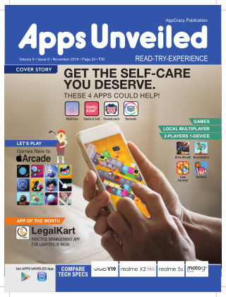 Apps Unveiled November 2019