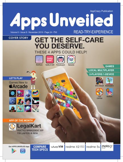 Apps Unveiled December 02, 2019 00:00