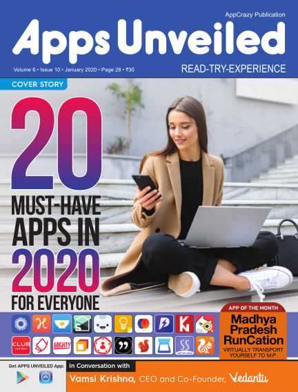 Apps Unveiled January 30, 2020 00:00