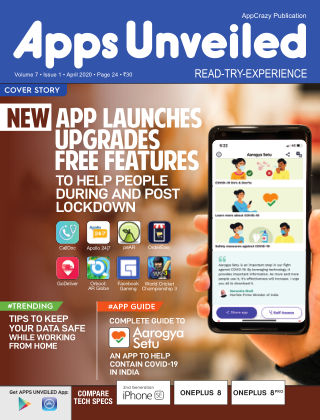 Apps Unveiled April 2020