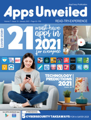 Apps Unveiled January2021