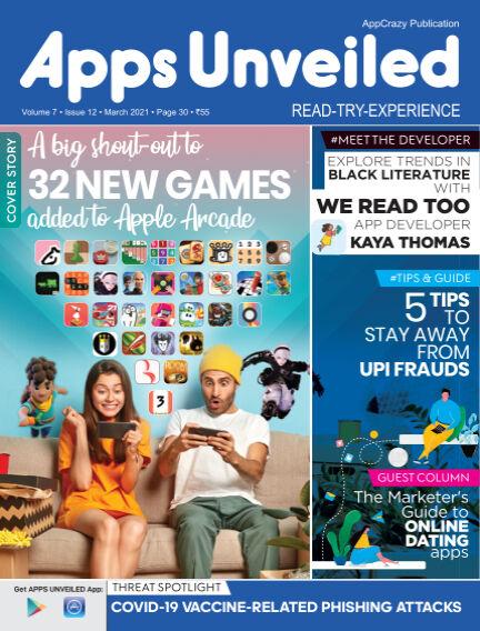 Apps Unveiled April 13, 2021 00:00